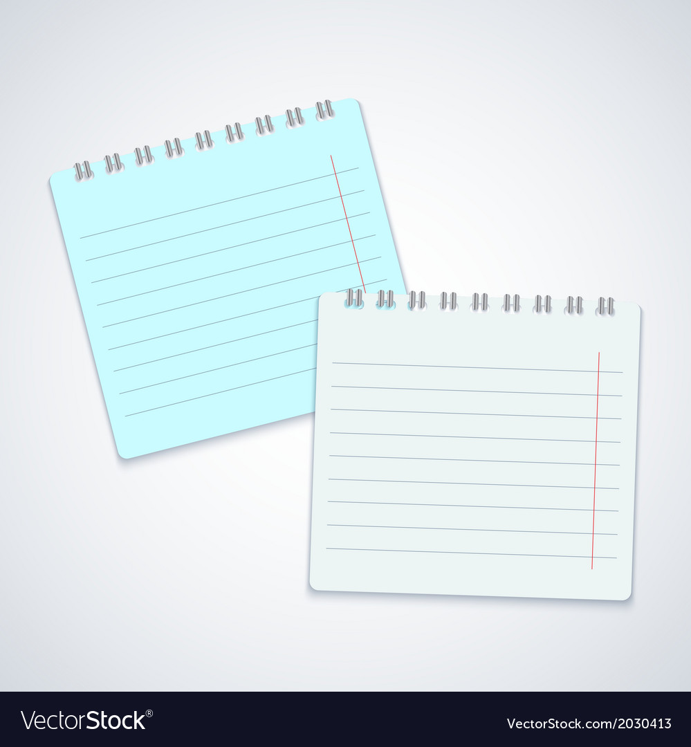 Modern notebook on gray background eps10 vector | Price: 1 Credit (USD $1)