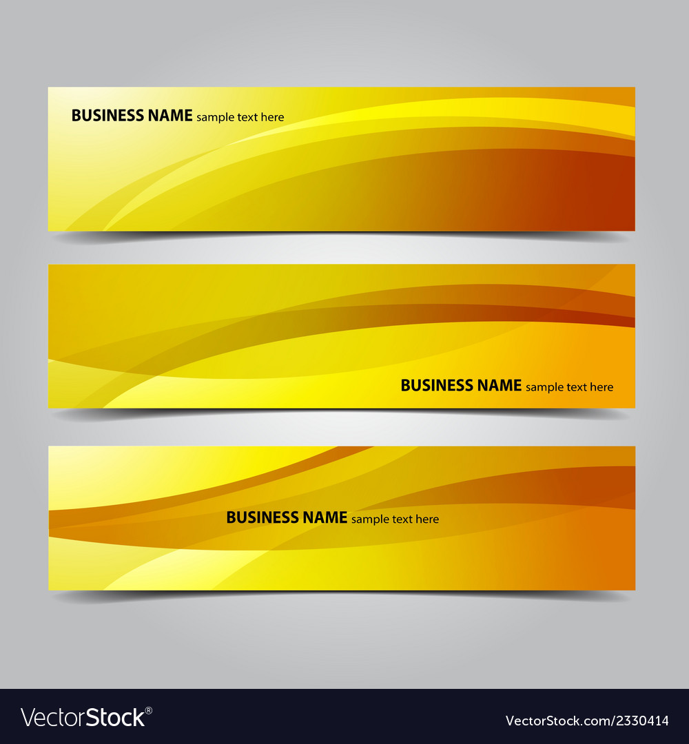 Business abstract banners vector | Price: 1 Credit (USD $1)