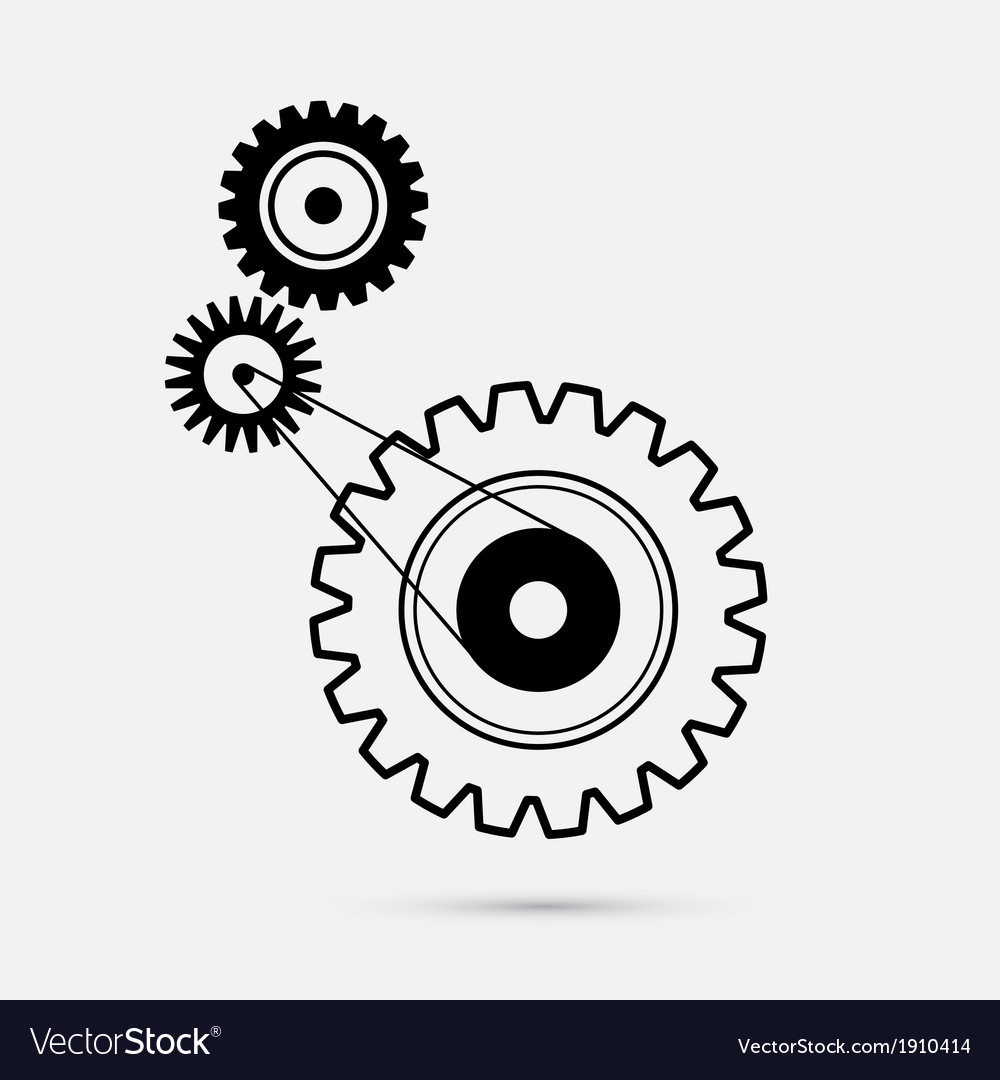 Cogs - gears vector | Price: 1 Credit (USD $1)