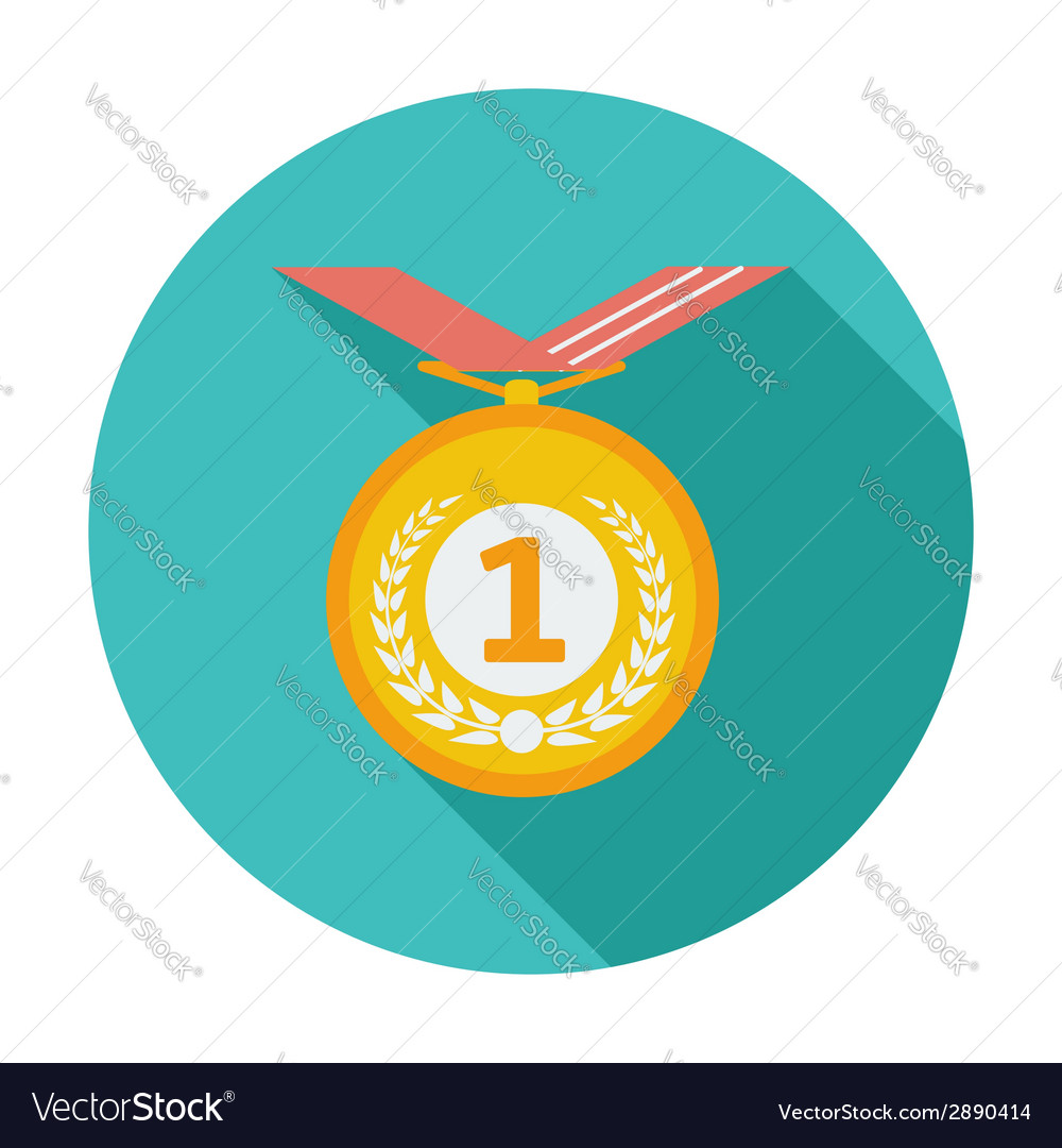 Icon medal vector | Price: 1 Credit (USD $1)
