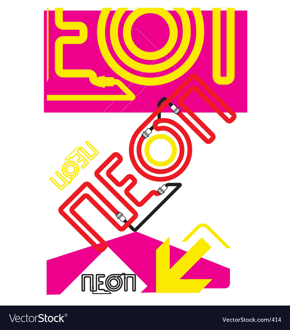 This is neon vector | Price: 1 Credit (USD $1)