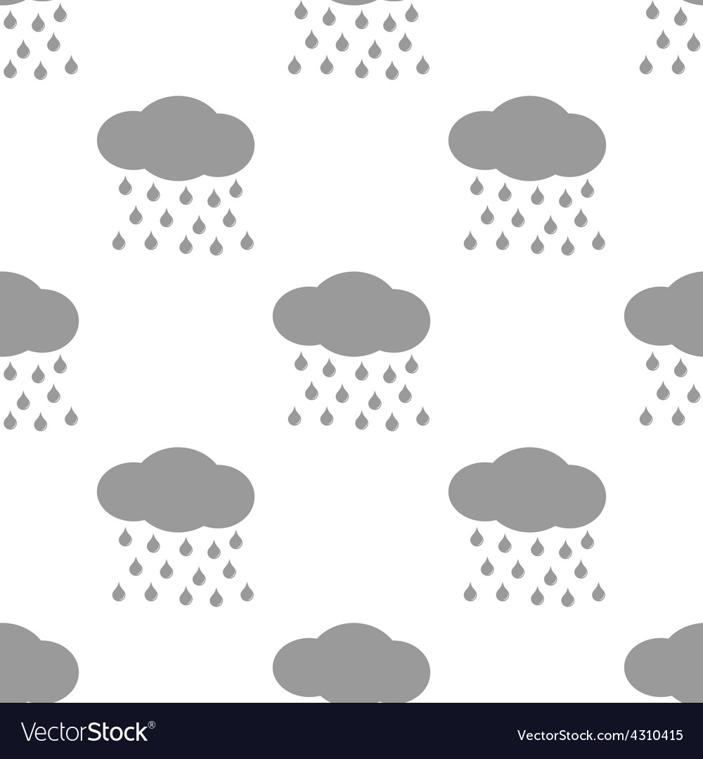 New rain seamless pattern vector | Price: 1 Credit (USD $1)