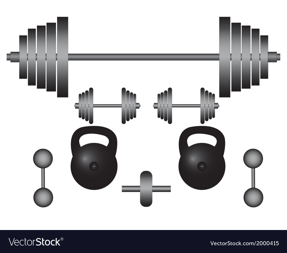 Subjects to engage in bodybuilding vector | Price: 1 Credit (USD $1)