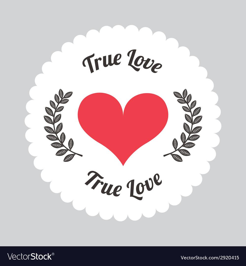 True love vector | Price: 1 Credit (USD $1)