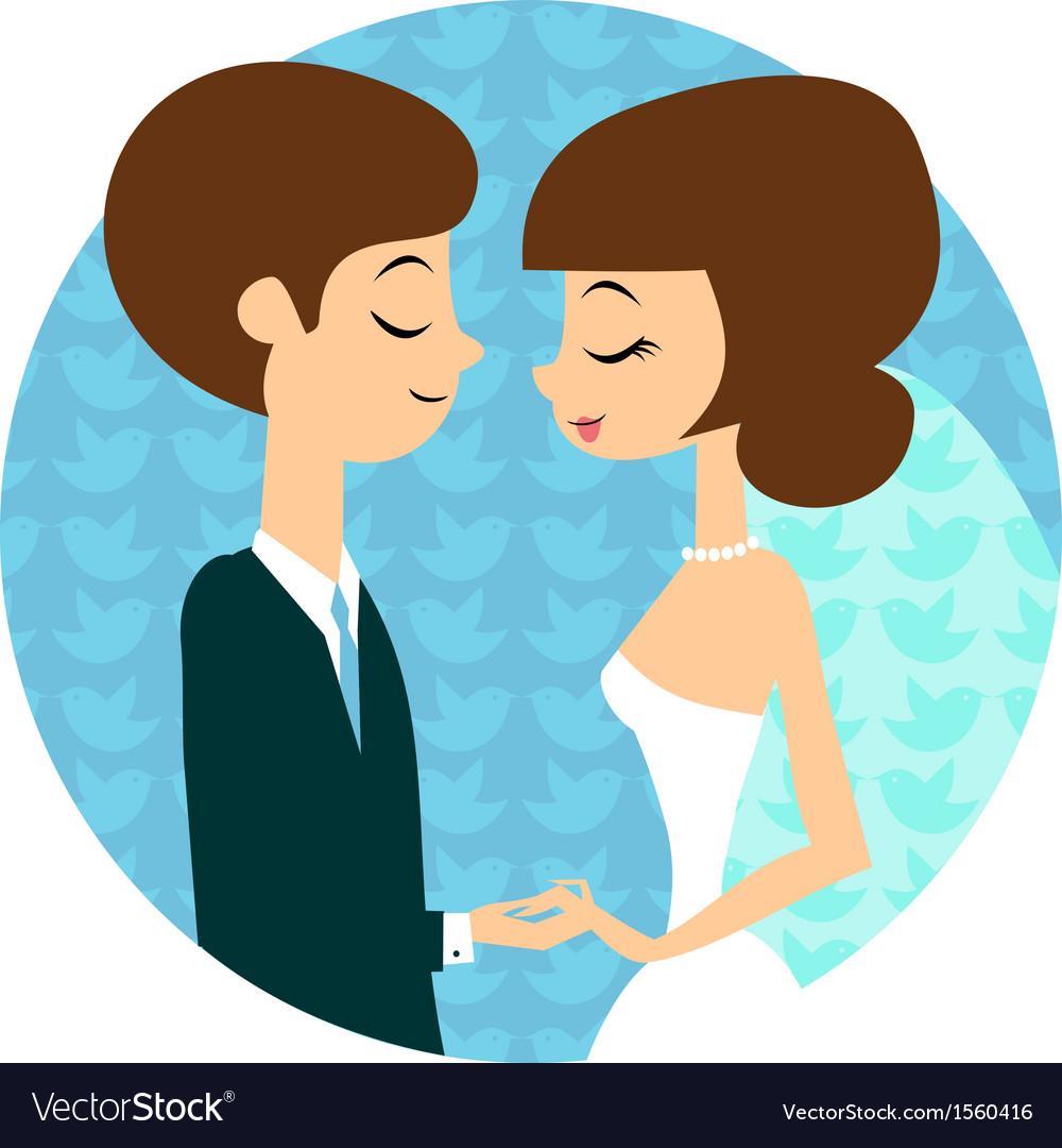 Sweet wedding vector | Price: 1 Credit (USD $1)