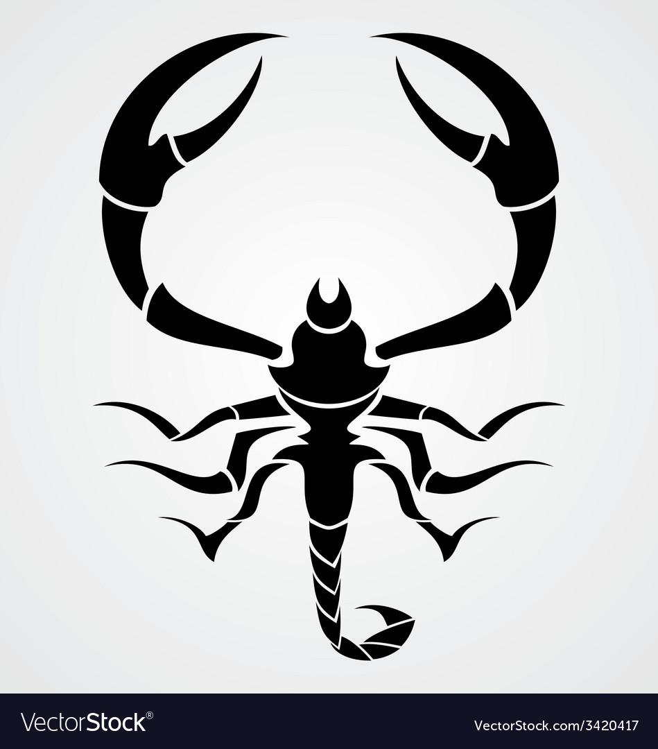 Black scorpions vector | Price: 1 Credit (USD $1)