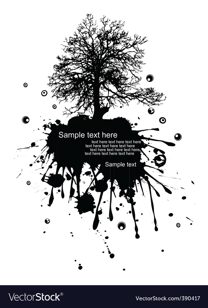 Grunge landscape vector | Price: 1 Credit (USD $1)