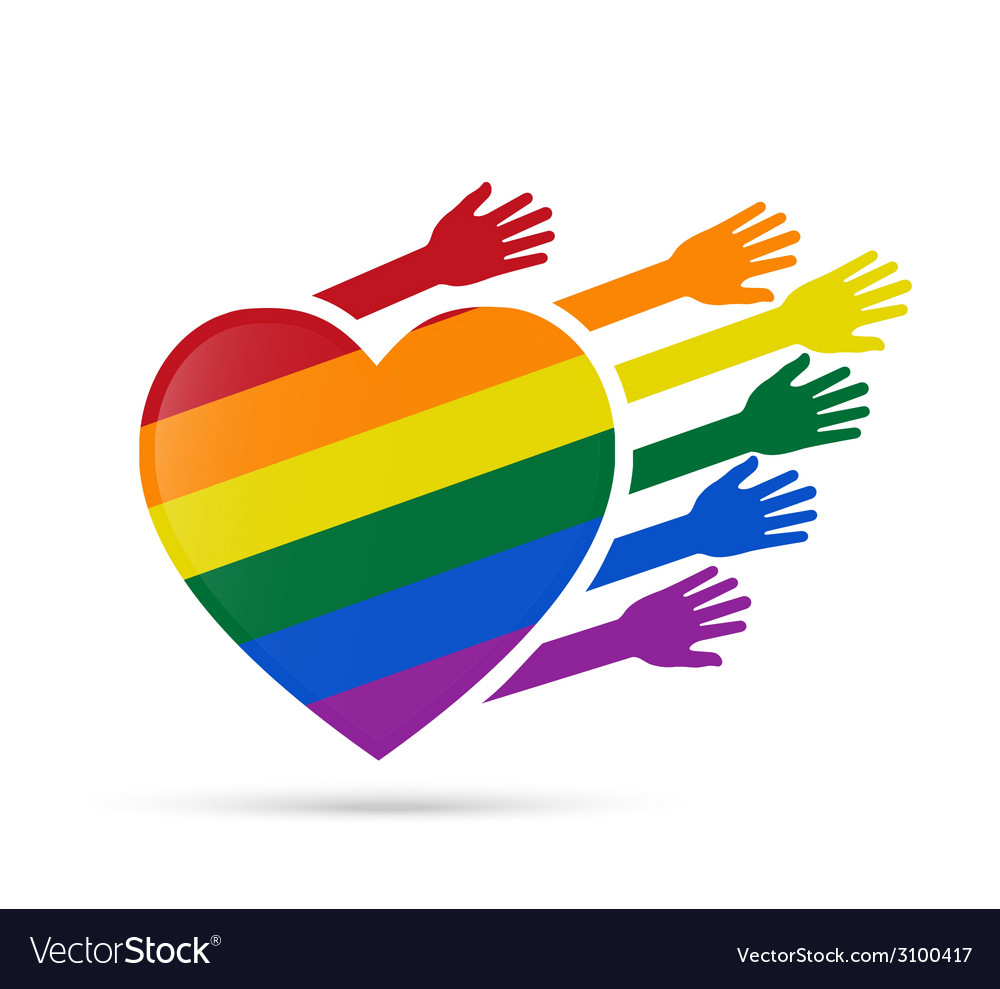 Solidarity gay people vector | Price: 1 Credit (USD $1)