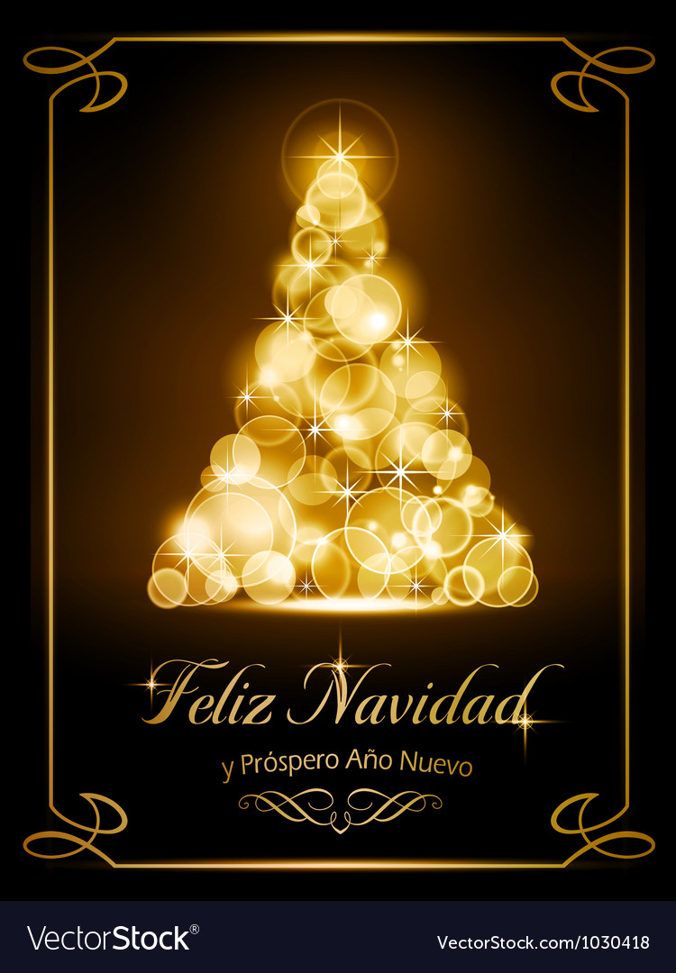 Christmas card tarjeta navidena vector | Price: 1 Credit (USD $1)