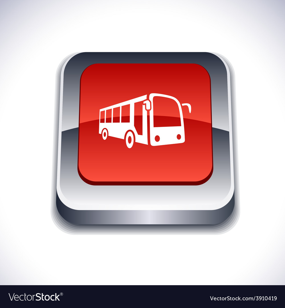 Bus 3d button vector   Price: 1 Credit (USD $1)