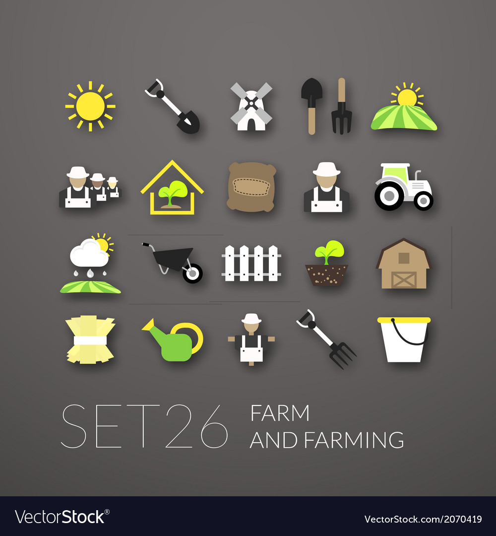 Flat icons set 26 vector   Price: 1 Credit (USD $1)