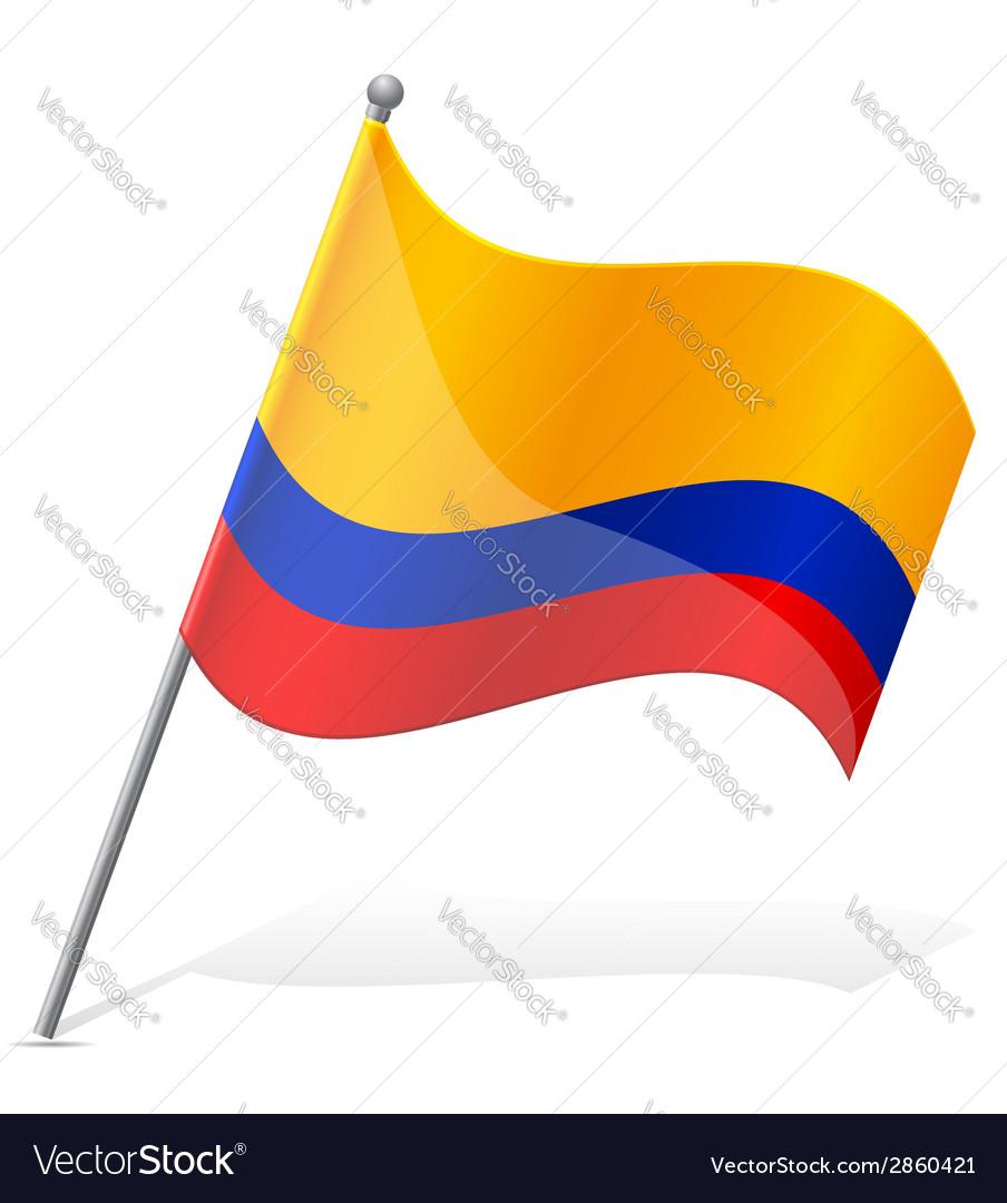 Flag of ecuador vector | Price: 1 Credit (USD $1)