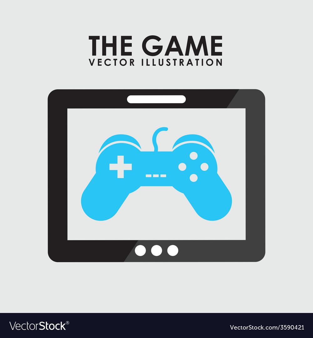 Gamer icon vector | Price: 1 Credit (USD $1)