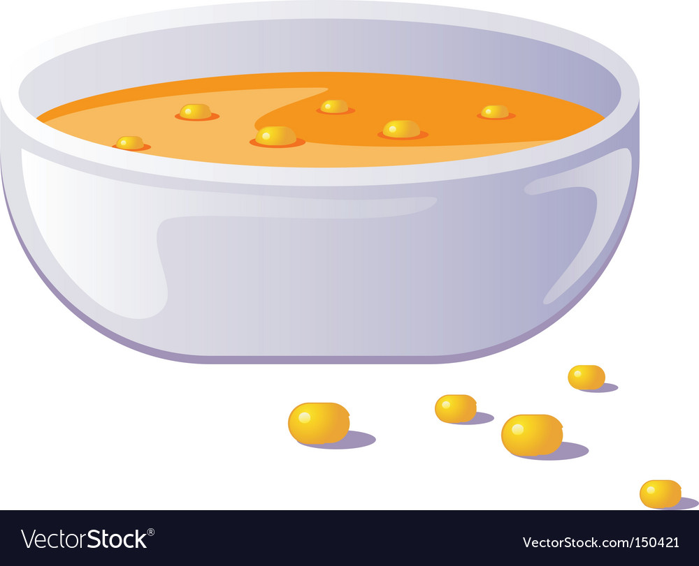 Hot soup vector | Price: 1 Credit (USD $1)