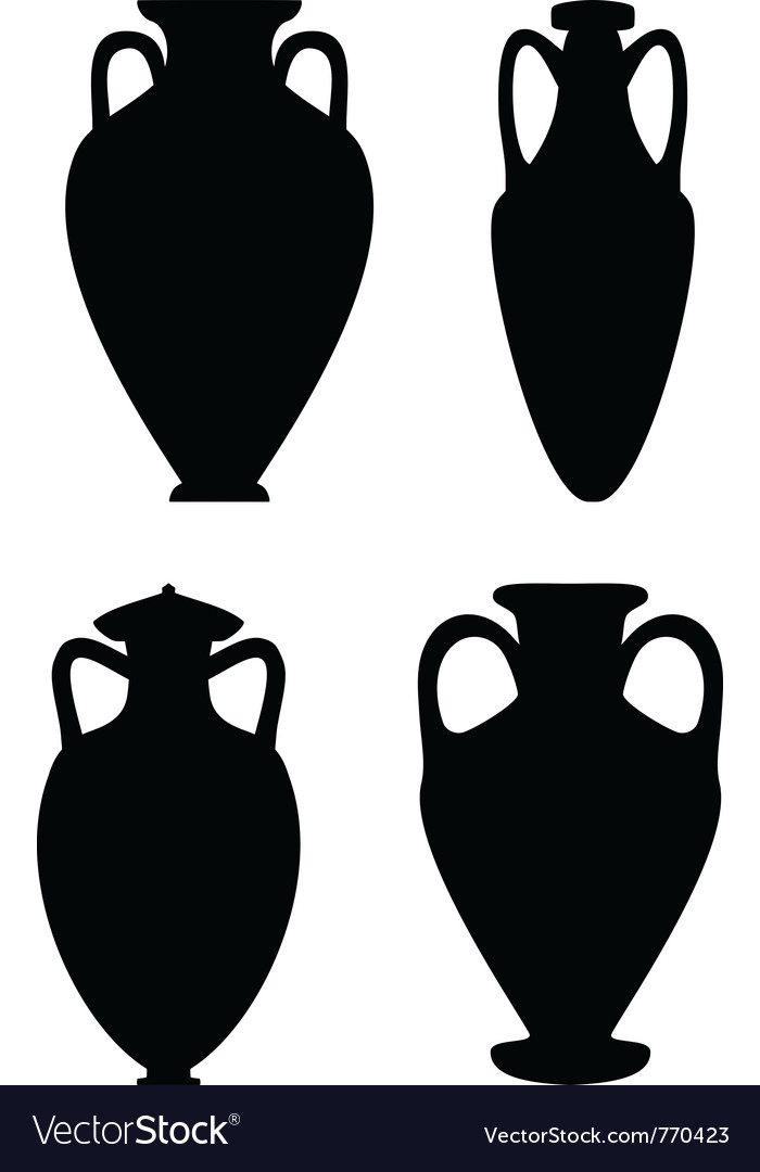 Amphoras vector | Price: 1 Credit (USD $1)