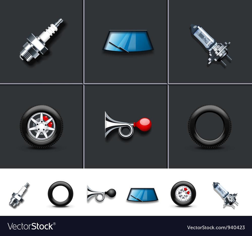 Car parts vector | Price: 3 Credit (USD $3)