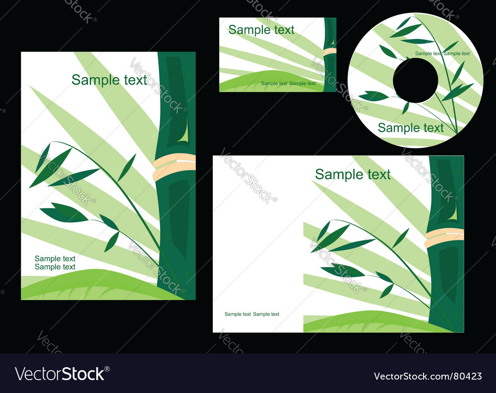 Elements of corporate style vector | Price: 1 Credit (USD $1)
