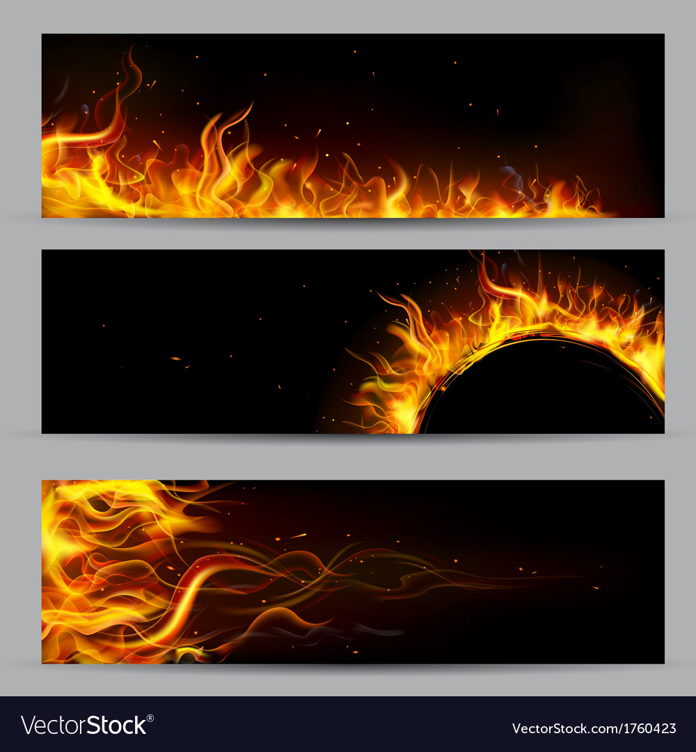 Fire flame template vector | Price: 1 Credit (USD $1)
