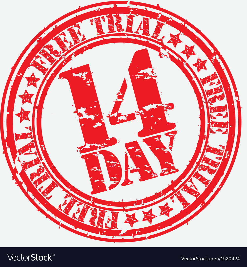 14 day trial vector | Price: 1 Credit (USD $1)
