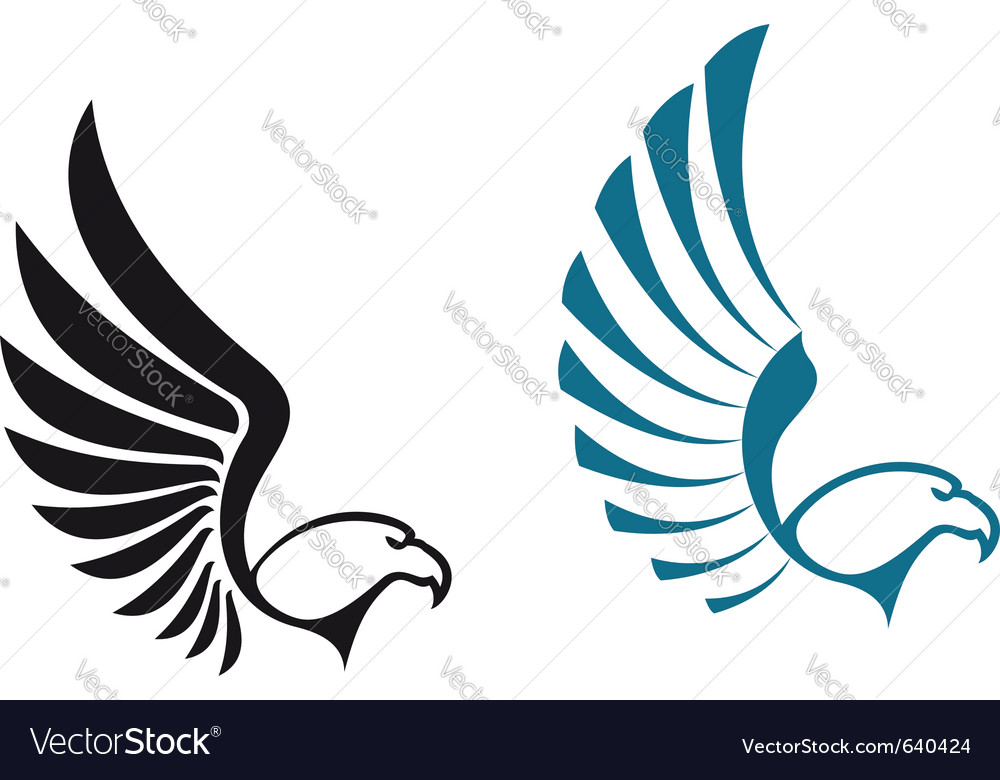 Eagle symbols vector | Price: 1 Credit (USD $1)