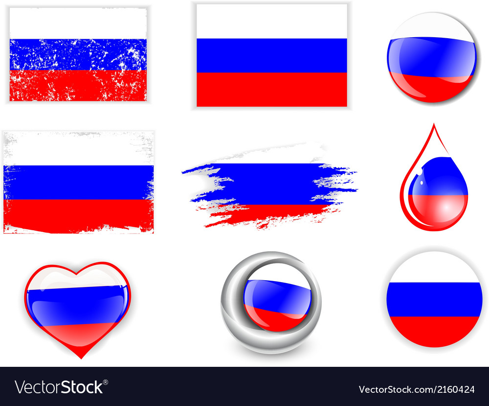 Russian federation flag vector   Price: 1 Credit (USD $1)