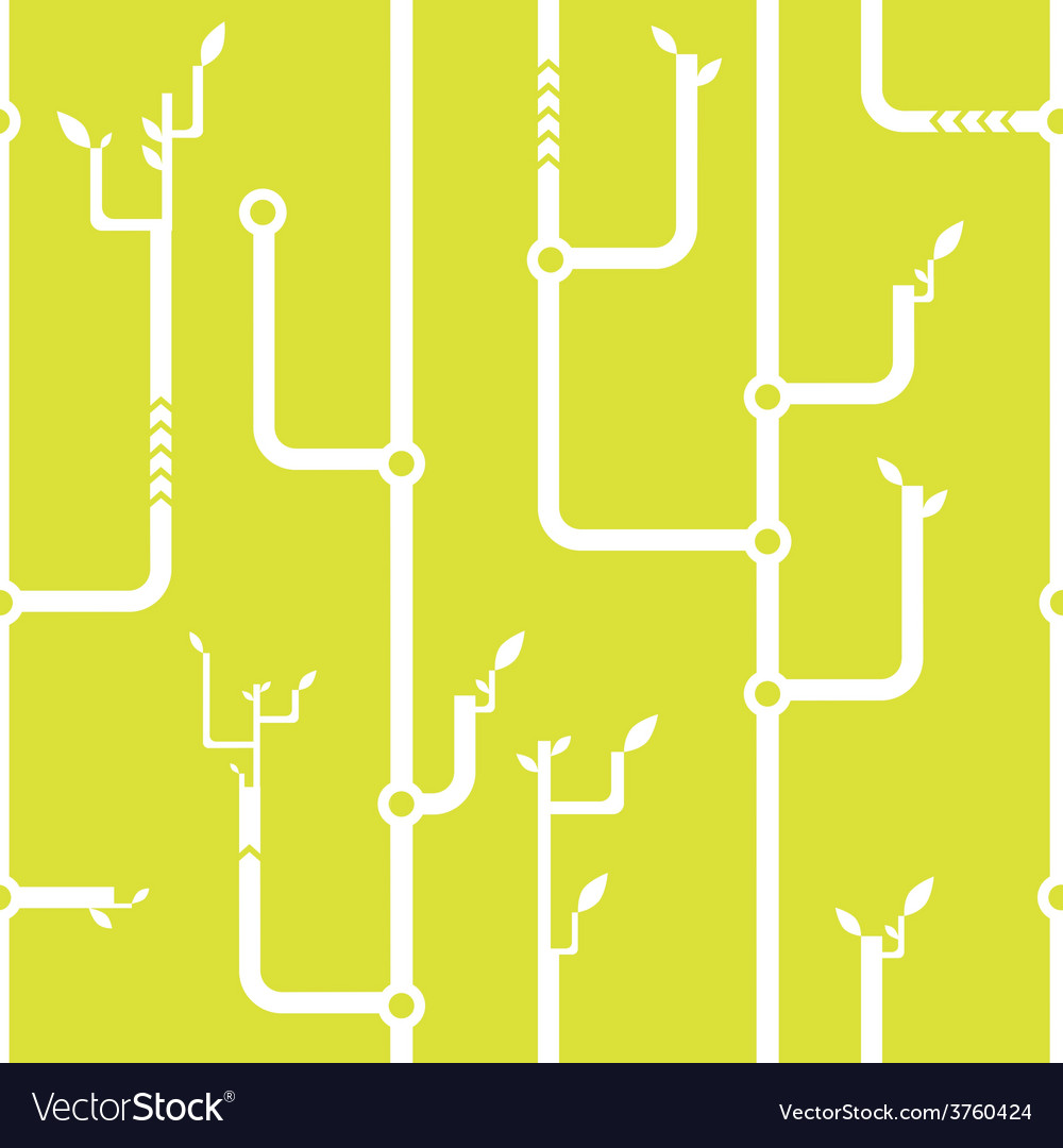 Thickets of wires seamless pattern vector | Price: 1 Credit (USD $1)