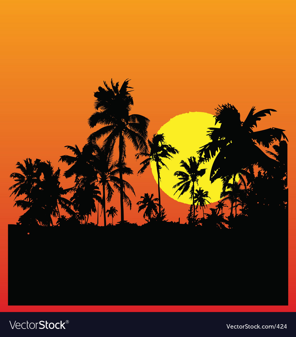 Tropical vector | Price: 1 Credit (USD $1)