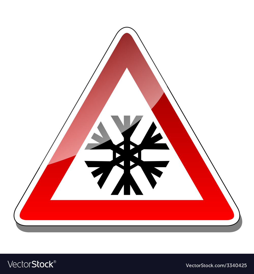 A warning sign vector | Price: 1 Credit (USD $1)