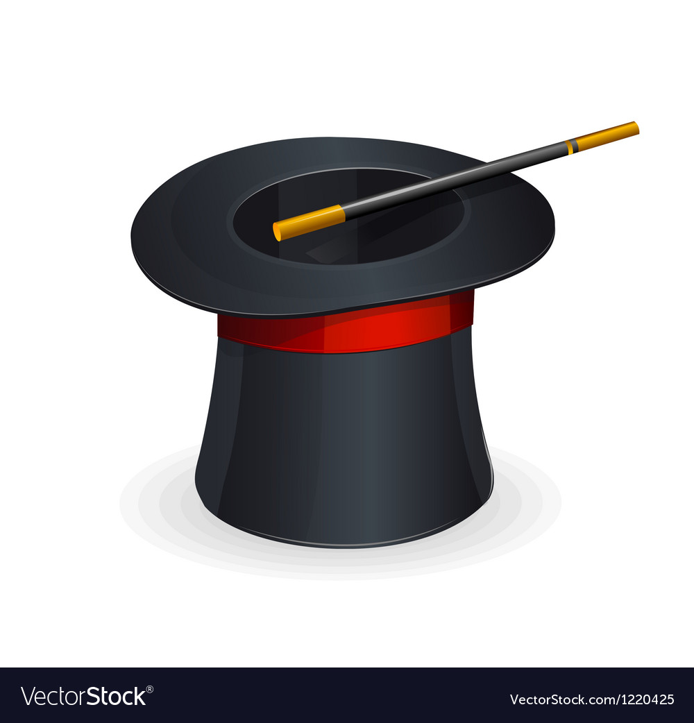 Magic hat vector | Price: 1 Credit (USD $1)