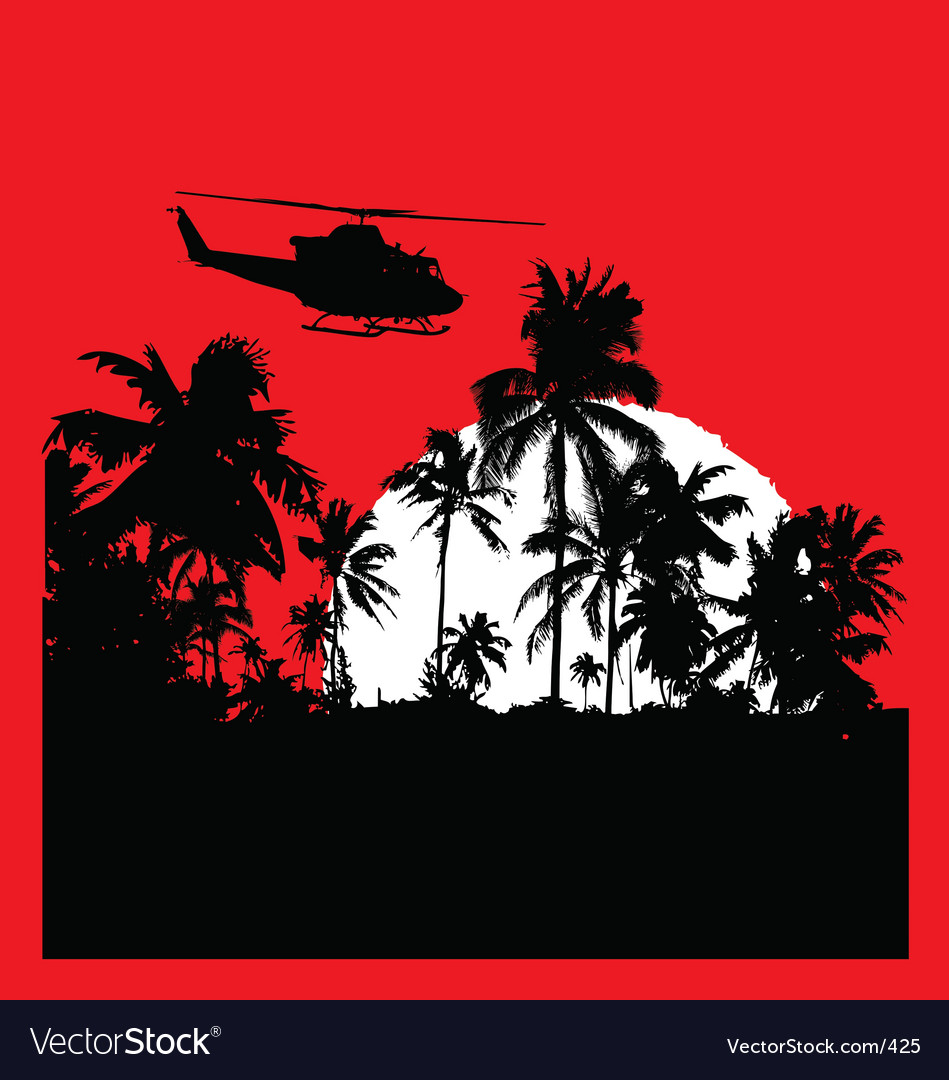 Tropical heat with choppa vector | Price: 1 Credit (USD $1)
