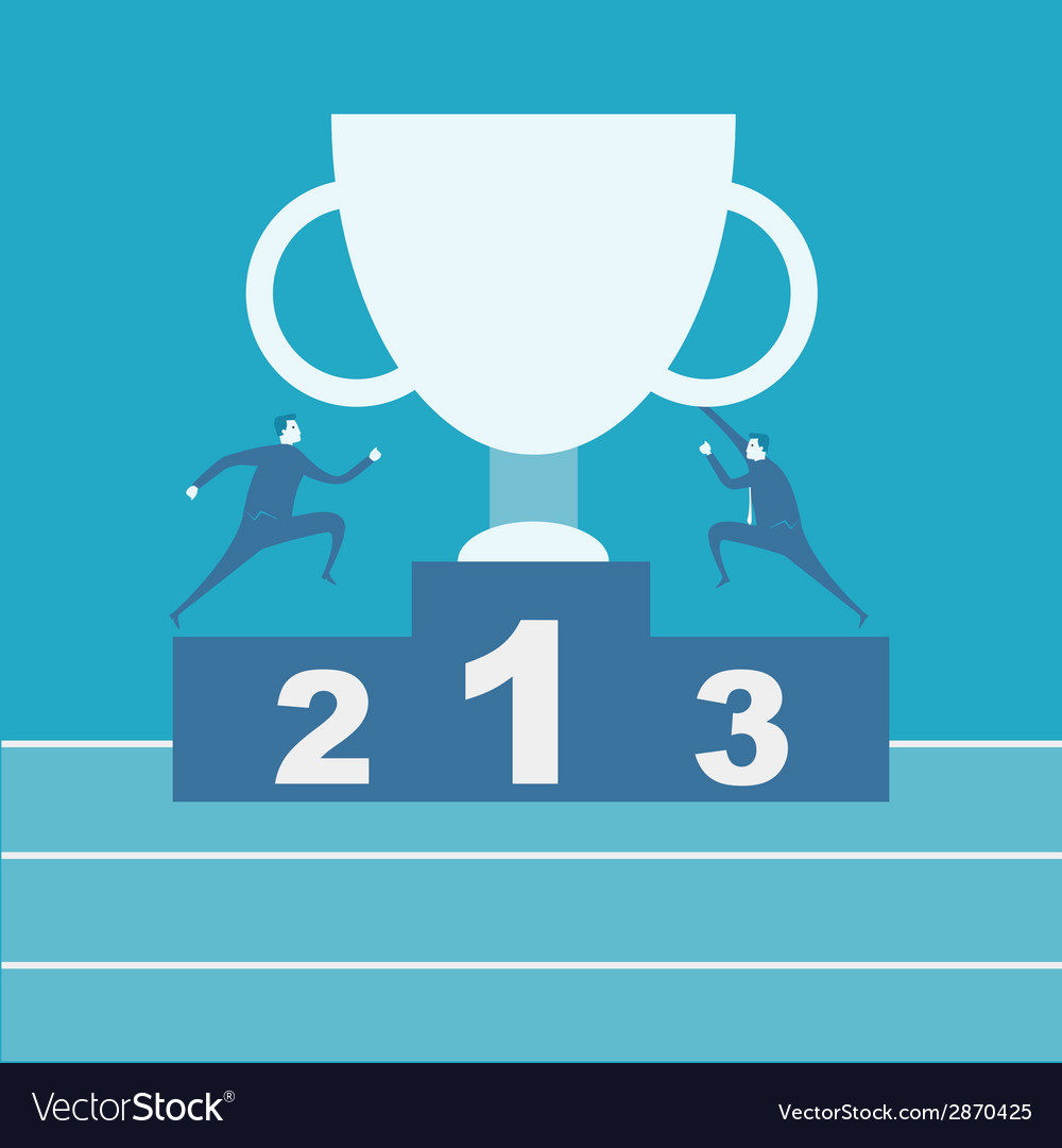 Winner podium vector | Price: 1 Credit (USD $1)