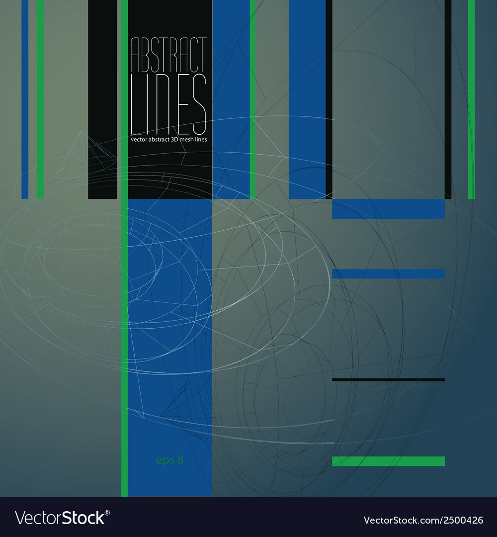 Abstract lines communication and digital vector | Price: 1 Credit (USD $1)