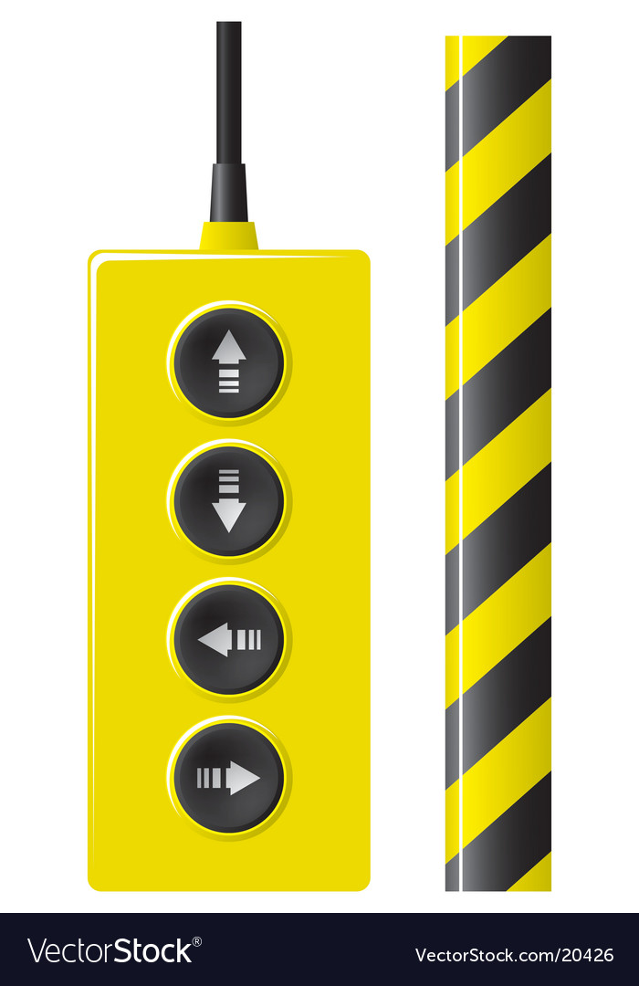Elevator remote control vector | Price: 1 Credit (USD $1)