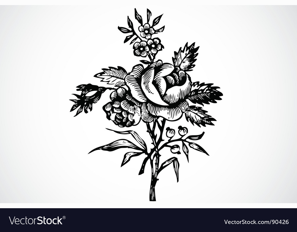 Floral ornament vector   Price: 1 Credit (USD $1)