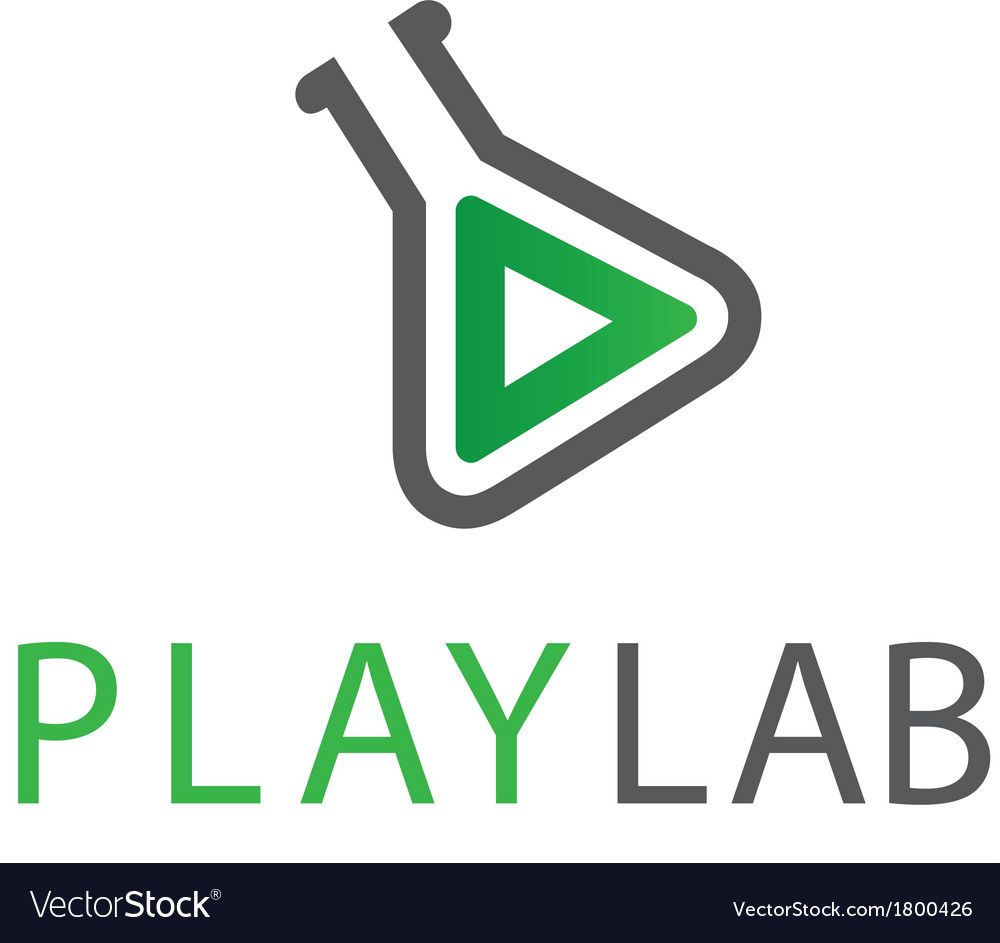Playlab logo template vector | Price: 1 Credit (USD $1)