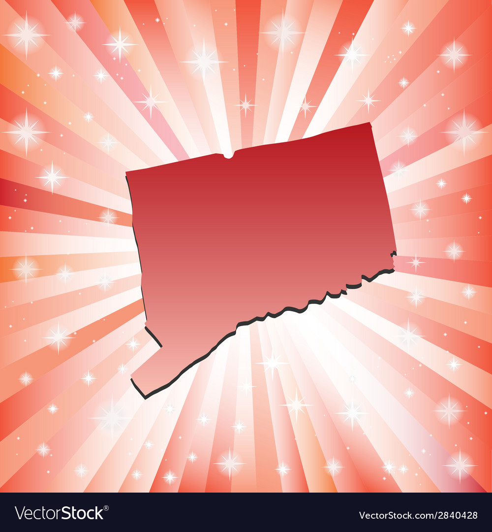 Red connecticut vector | Price: 1 Credit (USD $1)