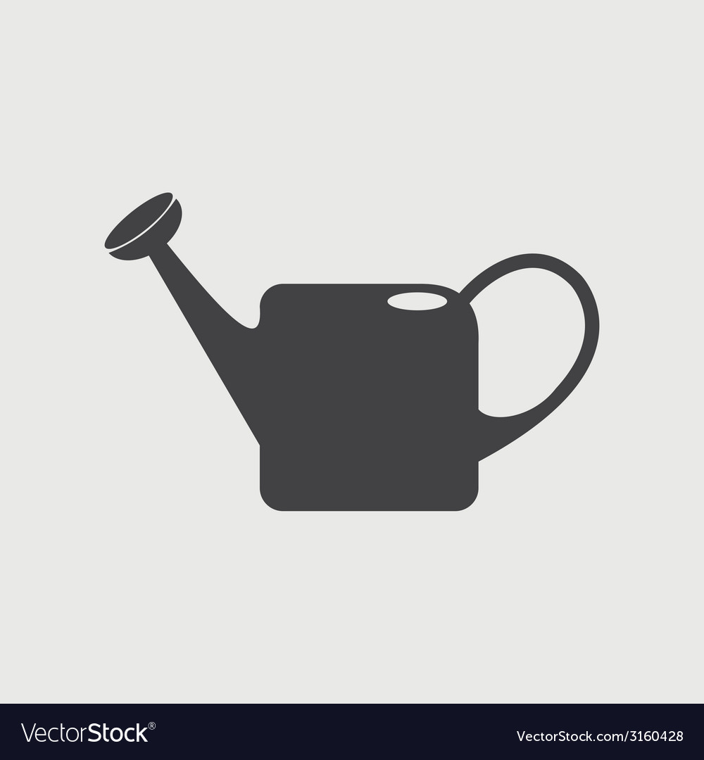 Watering can icon vector | Price: 1 Credit (USD $1)