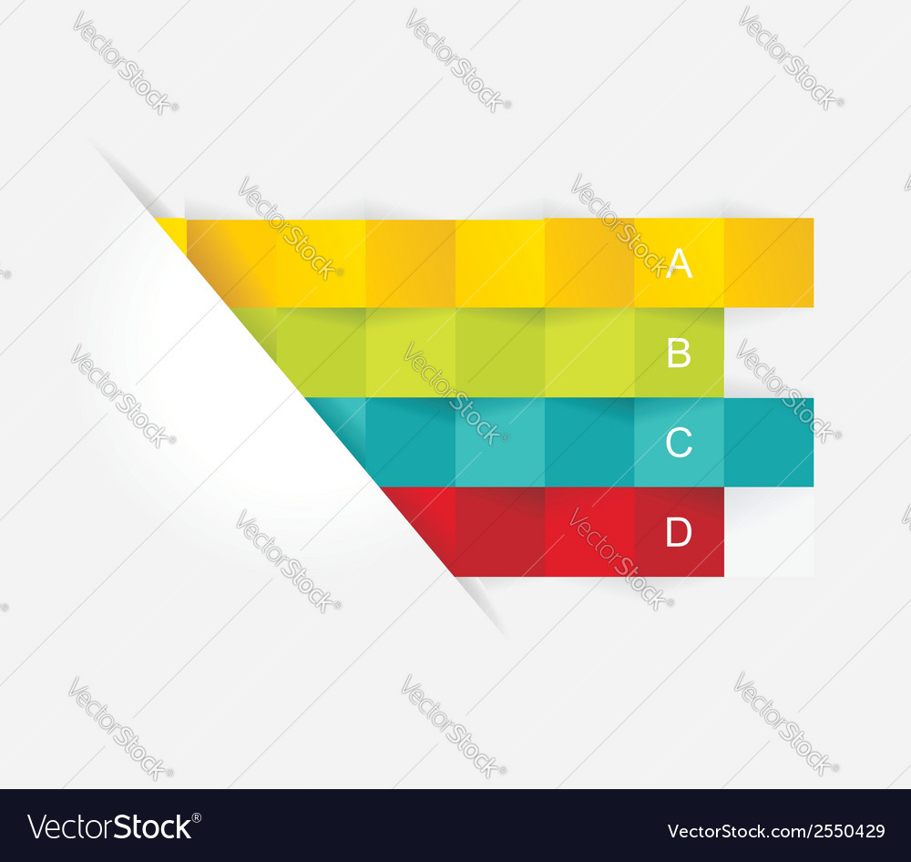 Abstract 3d infographic vector | Price: 1 Credit (USD $1)