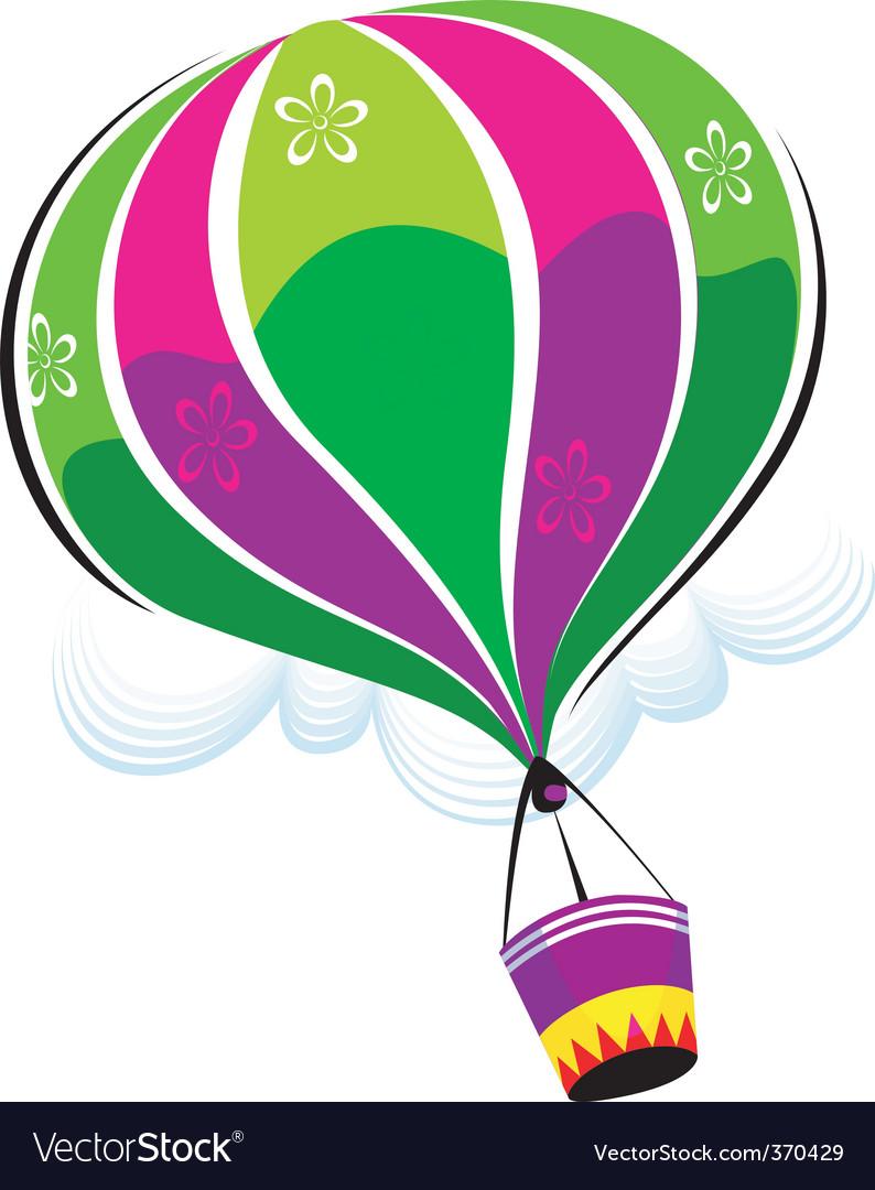 Air balloon vector | Price: 1 Credit (USD $1)