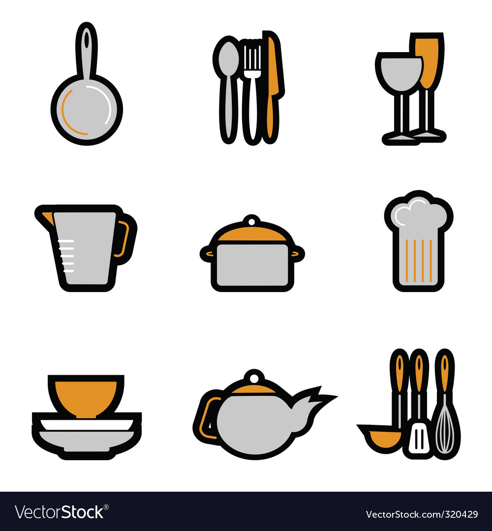 Kitchenware object vector | Price: 1 Credit (USD $1)