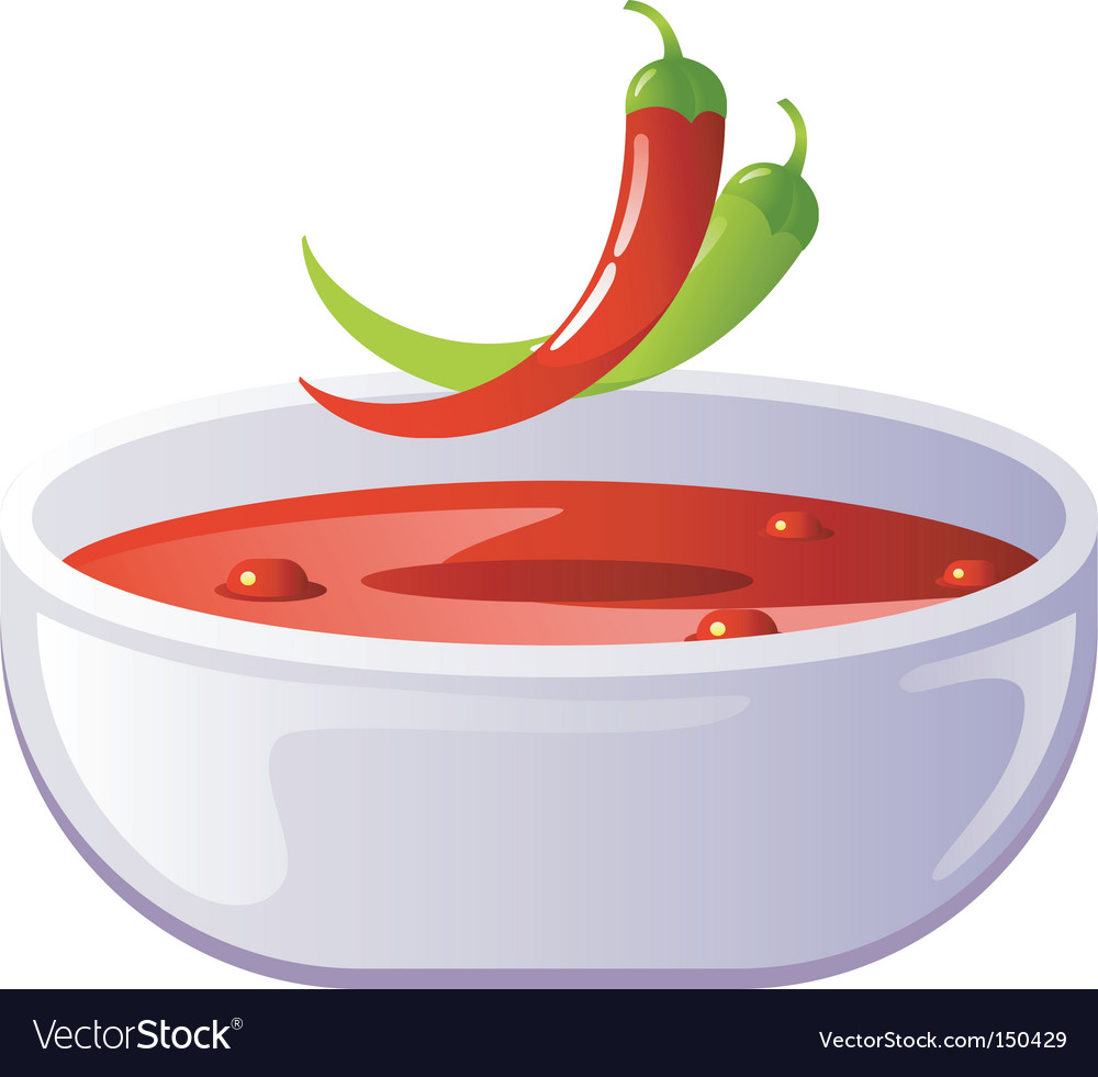Soup hot vector | Price: 1 Credit (USD $1)