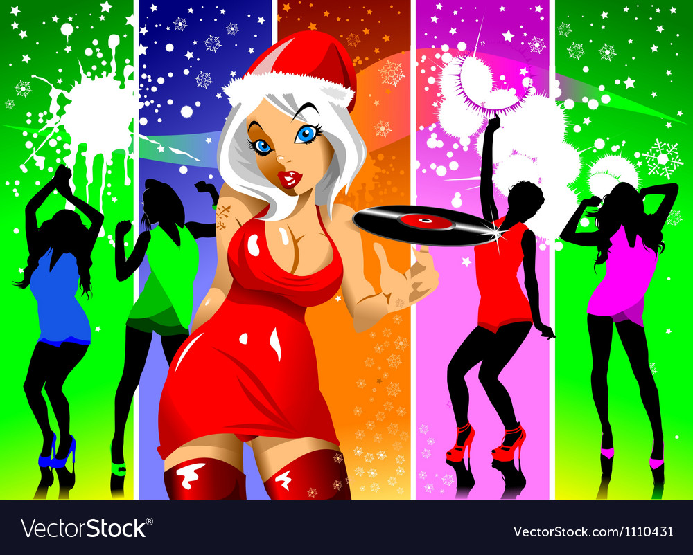 Christmas rainbow vector | Price: 1 Credit (USD $1)