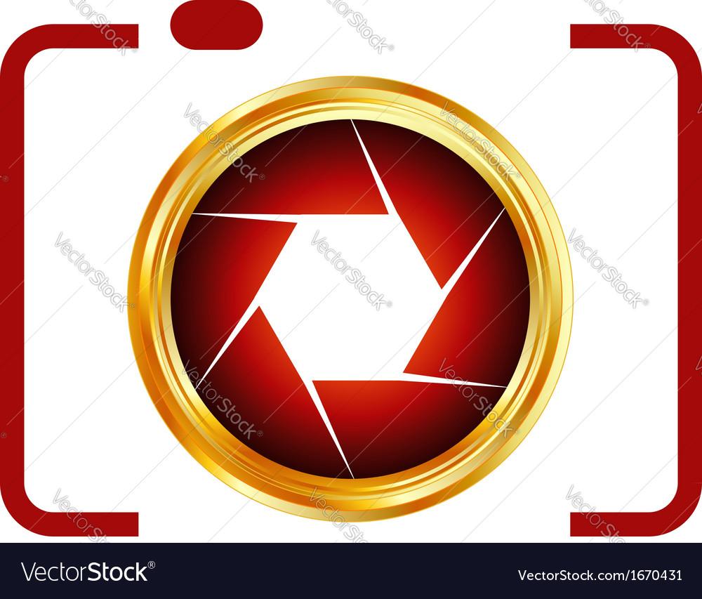 Digital camera- photography logo vector | Price: 1 Credit (USD $1)
