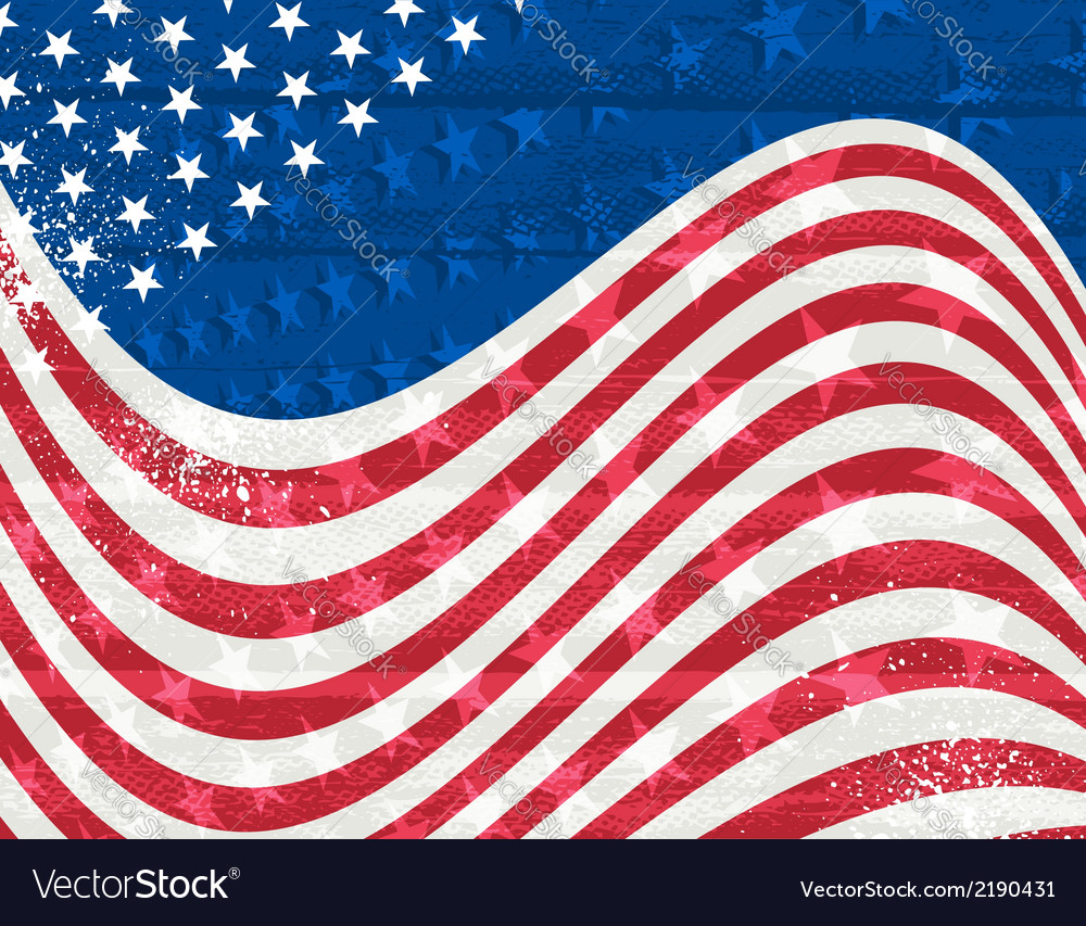 Usa background eps10 contains transparent objects vector | Price: 1 Credit (USD $1)