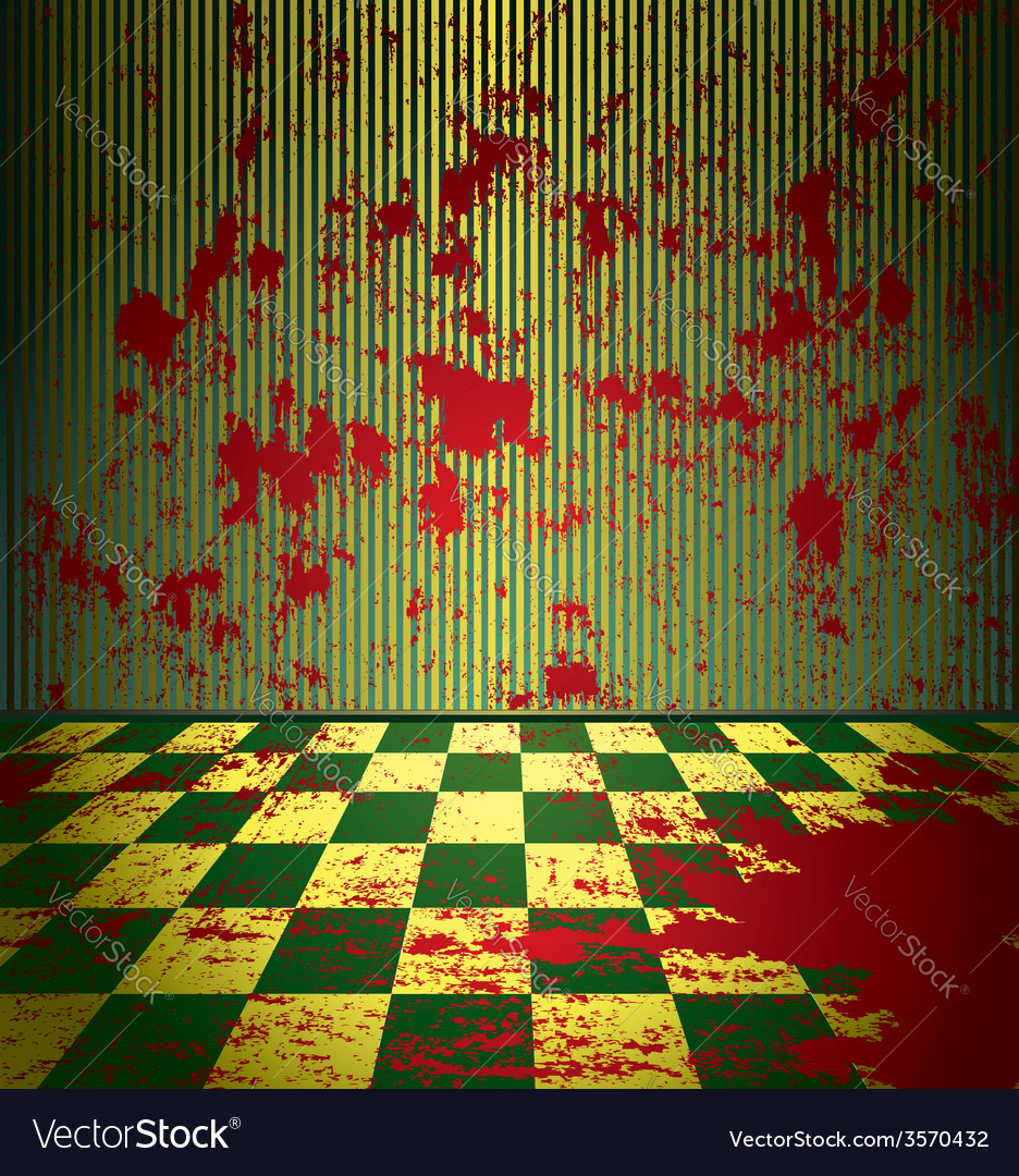 Bloody room vector | Price: 1 Credit (USD $1)