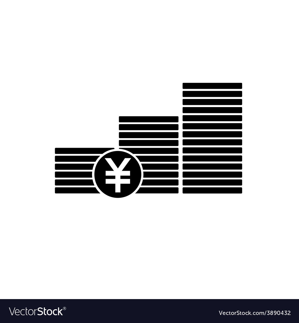 Finance money icon vector | Price: 1 Credit (USD $1)