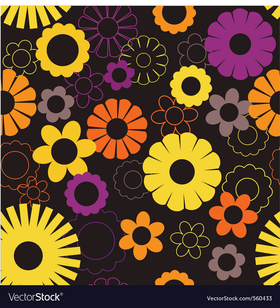 Decorative floral vector | Price: 1 Credit (USD $1)