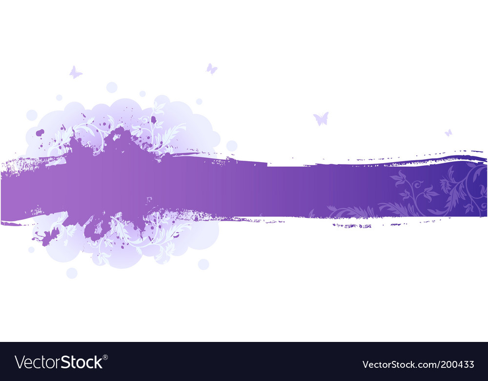 Splash floral vector | Price: 1 Credit (USD $1)