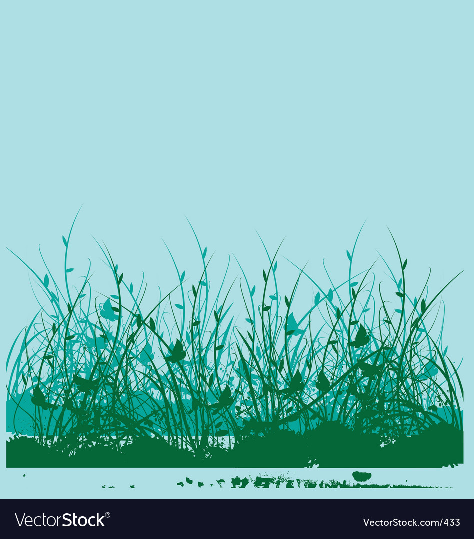 Wild flower garden vector | Price: 1 Credit (USD $1)