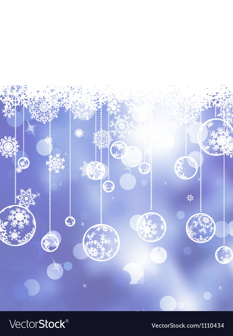Glittery blue christmas background eps 8 vector | Price: 1 Credit (USD $1)